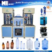 Semi  automatic   Bottle  Blow  Machine