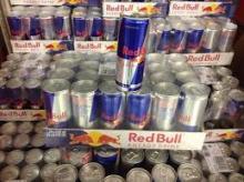Redbull Energy drinks all colors