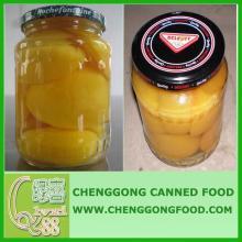 tinned peach/ canned yellow peach