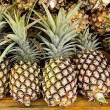 Fresh Pineapples class 1