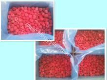 В индивидуальной упаковке, новый урожай малины целом