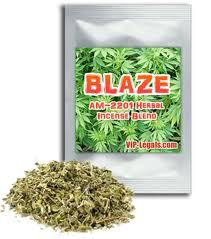 blaze herbal incense