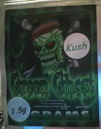 Green Ghost herbal incense