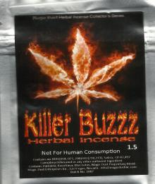 killer buzzz herbal incense