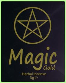 Magic Gold Herbal Incense 3g