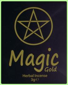 Magic Gold Herbal Incense 3g
