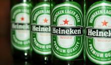 Heinken beer, Carlsberg Beer / Becks Beer / Kronenbourg Beer