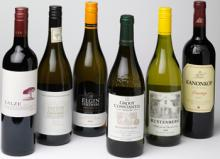 South African red and white wines