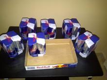 Red Bull Energy Drink Red / Blue / Silver