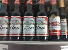 Budweiser 24x33cl bottle