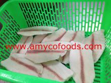 Tilapia Fillet deep skinned produced by professional tilapia fillet plant