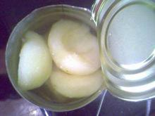 canned pear 850ml
