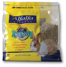 Alfalfa Pellets for Rabbit Food