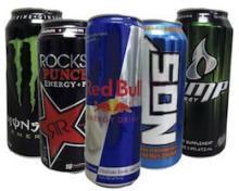 Monster Energy Drink 500ml, R.E.D Bull 250ml, Dr Pepper, Rockstar, AMP, NOS, Full Throttle, Xyience