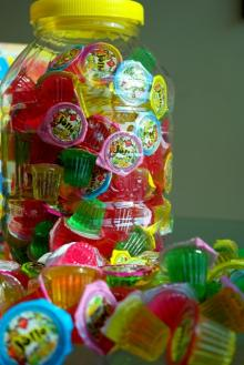 NATURAL FRUIT FLAVOURED JELLY
